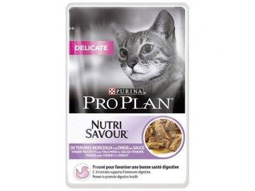 PRO PLAN cat delicate krůtí kapsička 85g