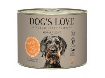 Dog's Love konzerva Senior/Light Classic Krocan 200g