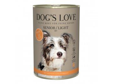 Dog's Love konzerva Senior/Light Classic Krocan 400 g