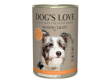 Dog's Love konzerva Senior/Light Classic Krocan 400g