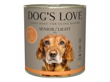 Dog's Love konzerva Senior/Light Classic Krocan 800 g