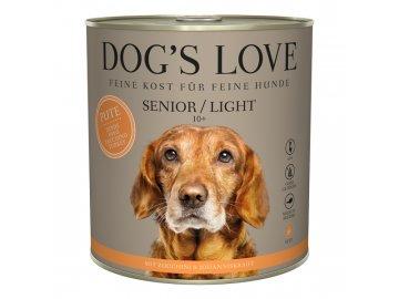 Dog's Love konzerva Senior/Light Classic Krocan 800g