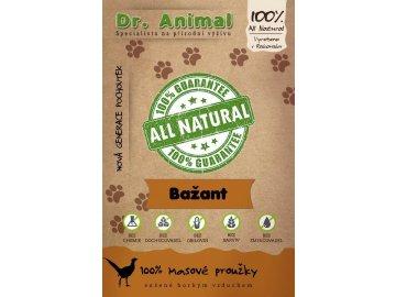 Dr. Animal - bažant proužky 80 g