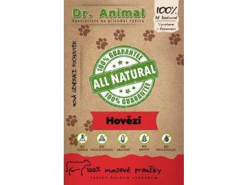 Dr. Animal - hovězí proužky 80 g