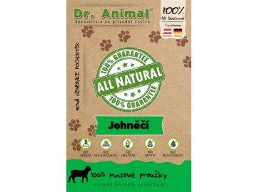 Dr. Animal - jehněčí proužky 80 g