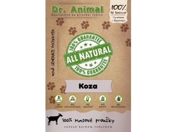 Dr. Animal - koza proužky 80 g