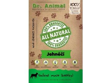 Dr. Animal - sušené jehněčí maso kostky 80 g