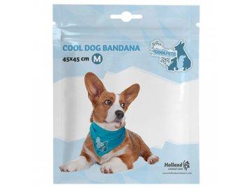 Chladící šátek Coolpets 45x45cm / M