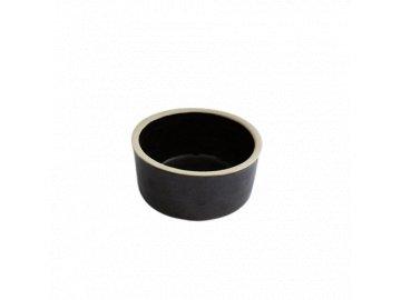 Miska keramická - krmítko jednoduché 0,5l pro psa pro kočky na mléko na polévku klasické keramická miska hnědá