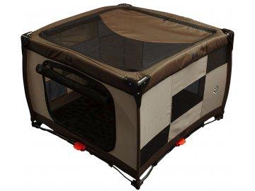 Pet Gear Pet Pen Top Large Sahara - skládací ohrádka pro psy s odepínací střechou