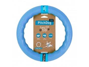 PitchDog tréninkový Kruh pro psy modrý 28cm