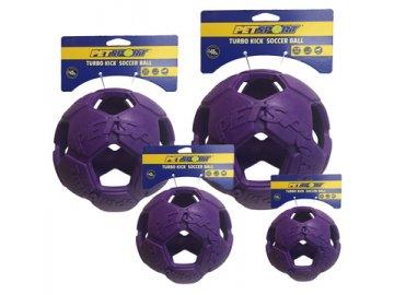 Turbo Kick Soccer Ball 20 cm - fotbalový míč pro psy, fialový