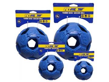 Turbo Kick Soccer Ball 20 cm - fotbalový míč pro psy, modrý