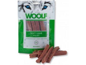 Woolf Soft Lamb Fillet 100 g - pamlsky pro psy