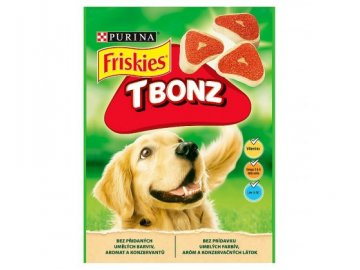 Friskies T-bonz 150 g pamlsky pro psy habeo.cz  Friskies T-bonz 150g
