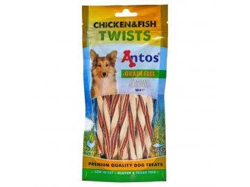 Twist kuře/ryba 100 g chicken en fish twists 100 gr 1599026462