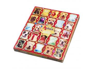 Vánoční kalendář pro psy antos Vánoční kalendář pro pejsky dárek pro psa na vánoce christmas advent calendar 1558609435
