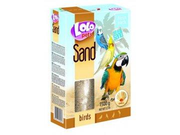 LOLO písek s mušlemi 1,5 kg