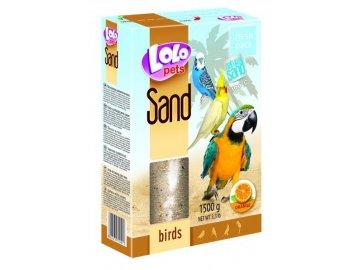 LOLO pomerančový písek 1,5 kg