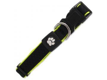 Obojek ACTIVE DOG Fluffy Reflective černý M