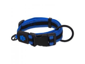 Obojek ACTIVE DOG Fluffy modrý XL