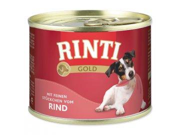 Konzerva RINTI Gold hovězí 185 g