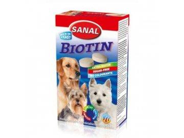 Kalciové tablety s biotinem 100tbl