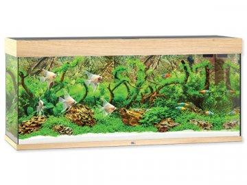 Akvárium set JUWEL Rio LED 240 l dub akvárko na prodej online
