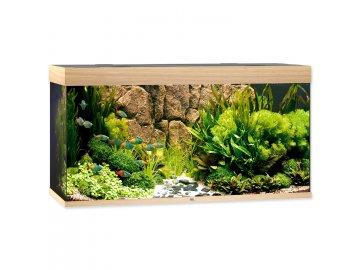 Akvárium set JUWEL Rio LED 350 l dub akvarium na prodej