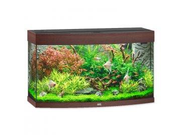 Akvárium set JUWEL Vision LED 180 tmavě hnědé akvárko na prodej habeo.cz