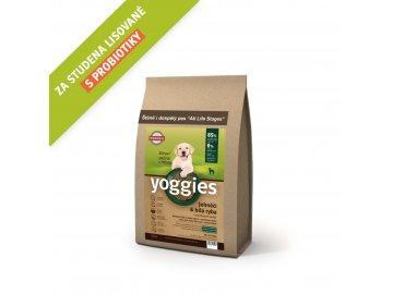 granule pro psy Yoggies 1,2 kg MINI Jehněčí granule lisované za studena s probiotiky