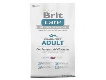 BRIT CARE 1 kg ADULT GRAIN-FREE SALMON & POTATO