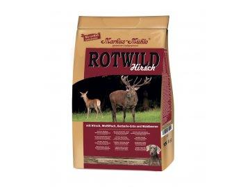 rot wild 5kg granule lisovane za studena s jelenem a rybou
