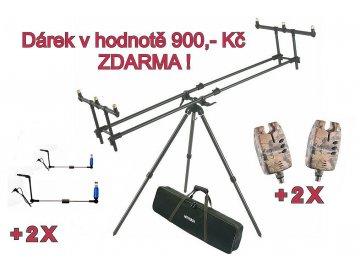 AKCE - Tripod Premium + ZDARMA 2 x Sounder EASY CAMO a 2 x Swing Arm Easy