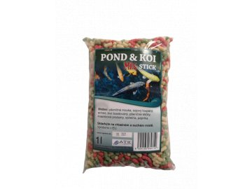 Koi pond sticks mix 1 l - 4 mm