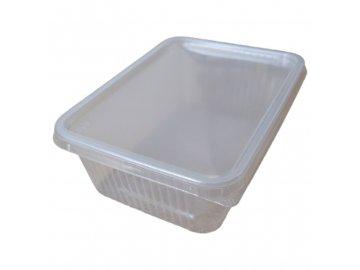 Plastová vanička průhledná (1000ml)