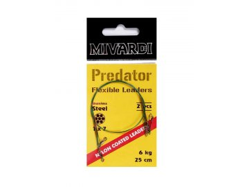 Mivardi Predator - lanko obratlík + karabinka 6 kg
