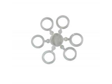 Elastické kroužky na nástrahy 7 mm