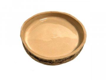 Natur keramická kulatá miska 15cm TeraZOO