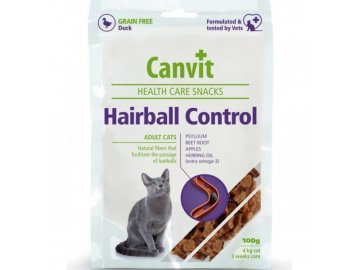 Canvit Snacks CAT Hairball Control 100 g habeo.cz