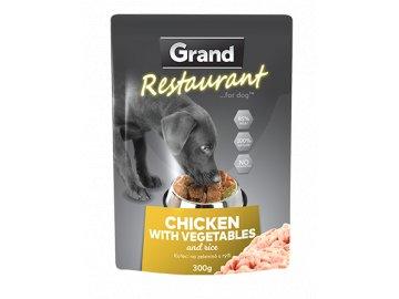 GRAND deluxe kapsička kuřecí na zelenině s rýží 300 g