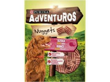 Adventuros nuggets s kančí příchutí 90 g 40b39cd91eba5ebd5080fc0e814db4de