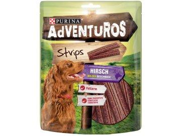 Adventuros strips s příchutí zvěřiny 90 g