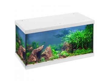 Akvárium set EHEIM Aquastar LED bílé, 60 x 33 x 33 cm akvárko na rpodej skleněné Habeo.cz