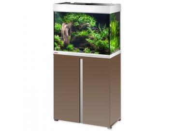 Akvárium set se stolkem EHEIM Proxima 175 mocha hnědá lesklá  akvarium na prodej online, akvárium na zakázku na Habeo.cz