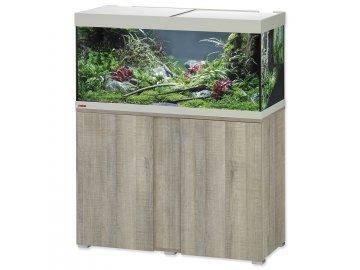 Akvárium set se stolkem EHEIM Vivaline LED dub šedé akvarium na prodej online, akvárium na zakázku na Habeo.cz
