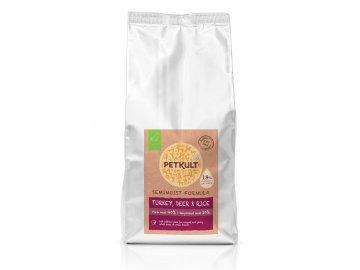 PETKULT dog SEMIMOIST/MINI ADULT turkey 1,5 kg habeo.cz petkult semimoist 5kg turkey deer rice 5 kg vyrez