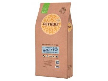 PETKULT dog SENSITIVE FISH 2 kg habeo.cz petkult sac 14 kg etichete 3d sensitive fish
