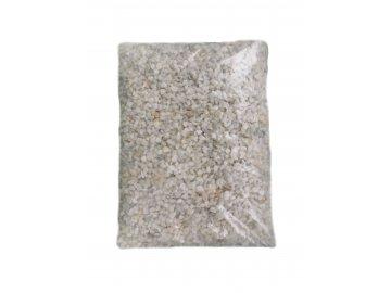 Akvarijní štěrk bílý 7-9 mm (2 litry – cca 2,5 kg)