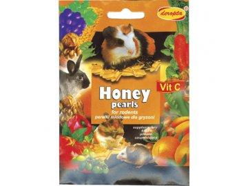 Honey pearls pro hlodavce 30g